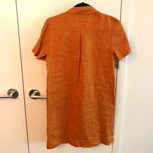 1c4752235d Anthropologie Dresses - NWT Anthropologie Maeve Mango Lace-Up Linen Dress